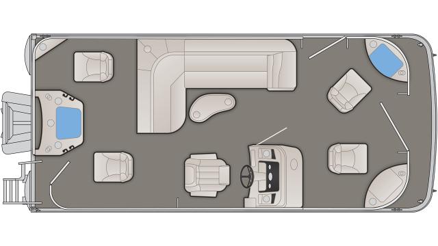 SX Series 20SFNPX Floor Plan - 2020