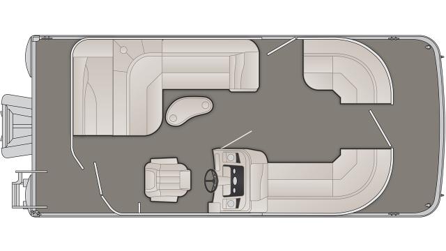 2020 Bennington SX Series 20SLMX - SX9536