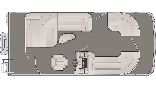 SX Series 20SLX Floor Plan - 2020