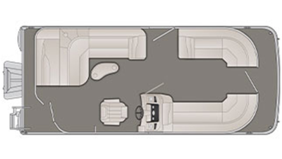 SX Series 21 SLX Floor Plan - 2018