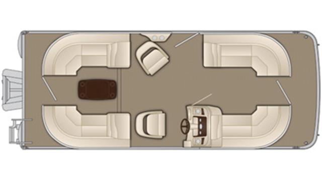 SX Series 21 SSRX Floor Plan - 2018