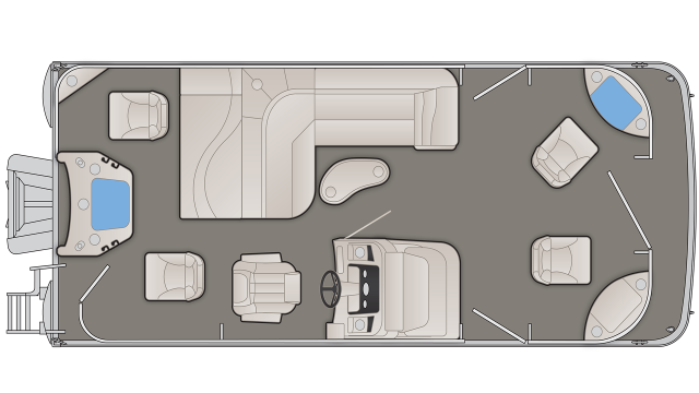 SX Series 21SFX Floor Plan - 2020