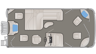 SX Series 21SFX Floor Plan - 2020