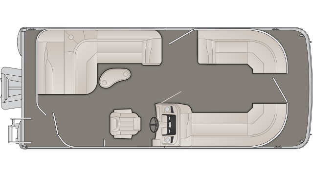 SX Series 21SLX Floor Plan - 2020