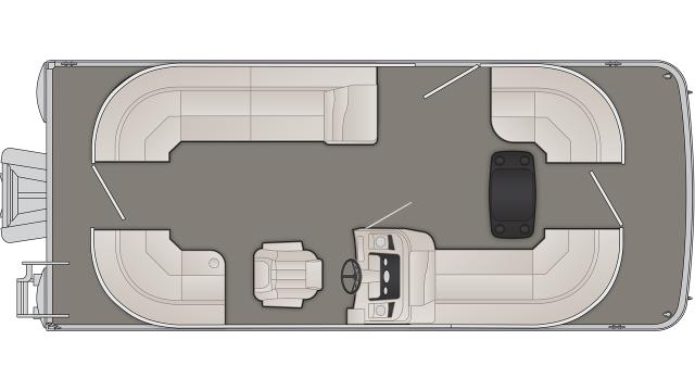 2020 Bennington SX Series 21SSRCX - SX0524