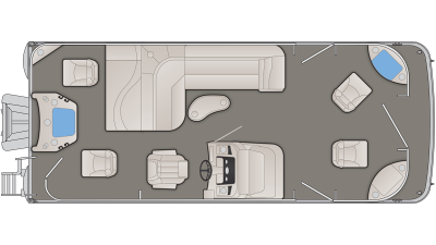SX Series 22SFX Floor Plan - 2020