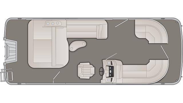 2020 Bennington SX Series 22SSBX - SX9412