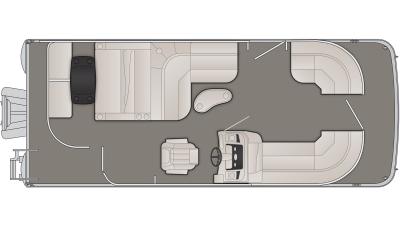 2019 Bennington SX Series 22SSLDX - 72B919