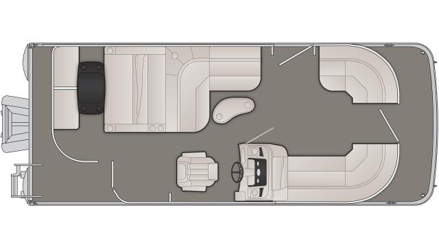 SX Series 22SSLDX Floor Plan - 2020