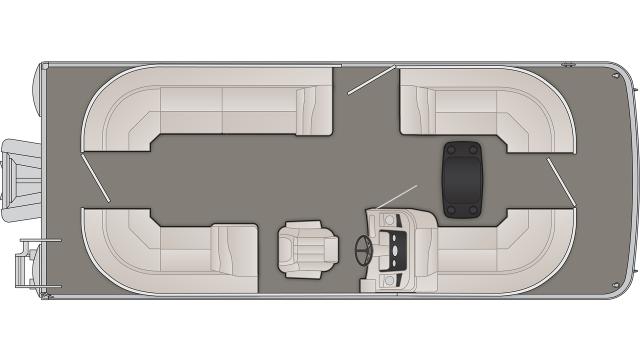 SX Series 22SSRCX Floor Plan - 2019