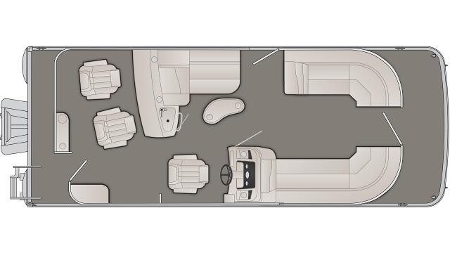 SX Series 23SBRX Floor Plan - 2020