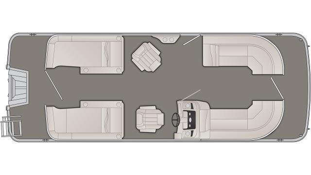 SX Series 23SCWX Floor Plan - 2020