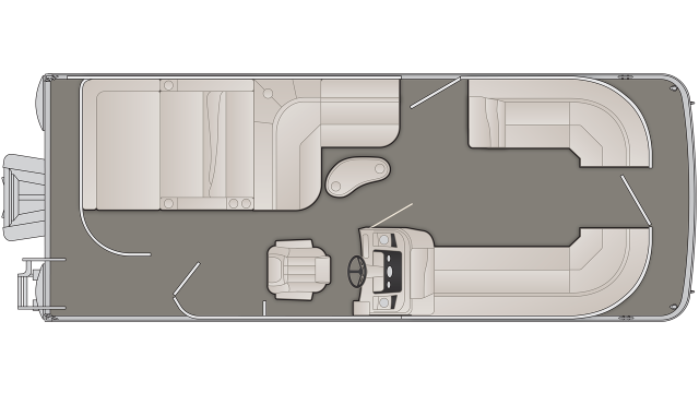 SX Series 23SSLX Floor Plan - 2020