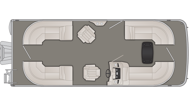 Bennington SX Series 23SSRX Floor Plan - 2020