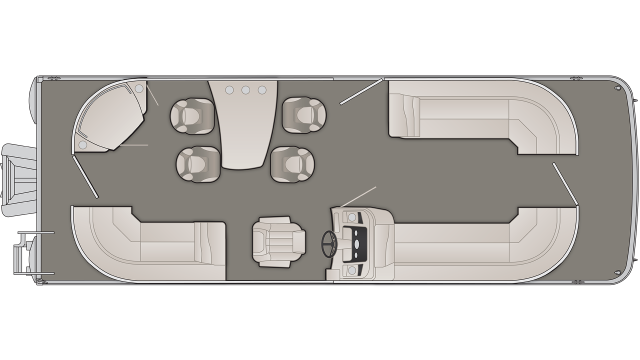 SX Series 25SPDX Floor Plan - 2020