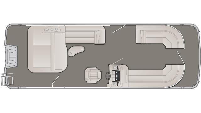 SX Series 25SSBX Floor Plan - 2020