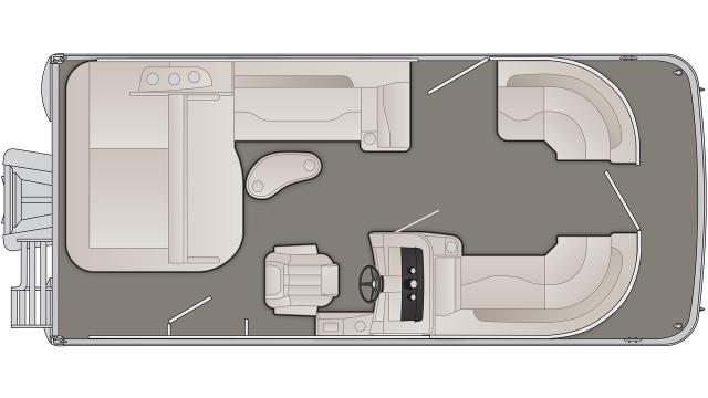 Bennington SXP Series 20SSBXP Floor Plan - 2020