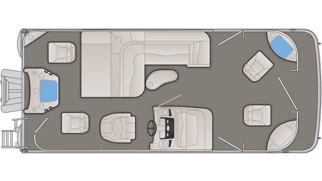 SXP Series 21SFXP Floor Plan - 2020