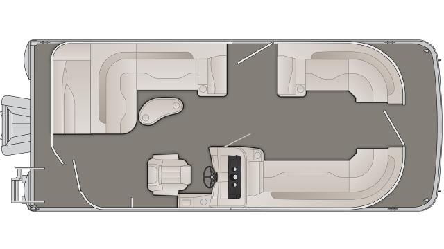 2020 Bennington SXP Series 21SLXP - 75C020