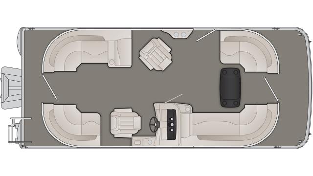 SXP Series 21SSRXP Floor Plan - 2019