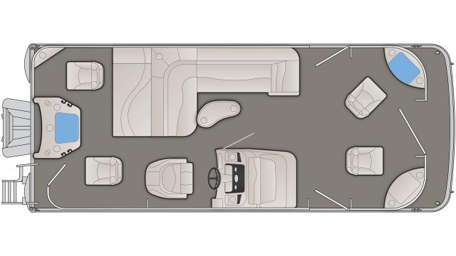 SXP Series 22SFXP Floor Plan - 2020