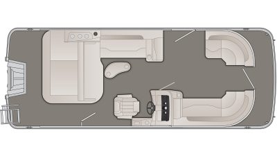 2019 Bennington SXP Series 22SSBXP - 58I819