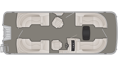 SXP Series 22SSRFBXP Floor Plan - 2019