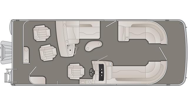 SXP Series 23SBRXP Floor Plan - 2020