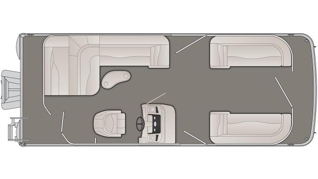 SXP Series 23SLXP Floor Plan - 2020
