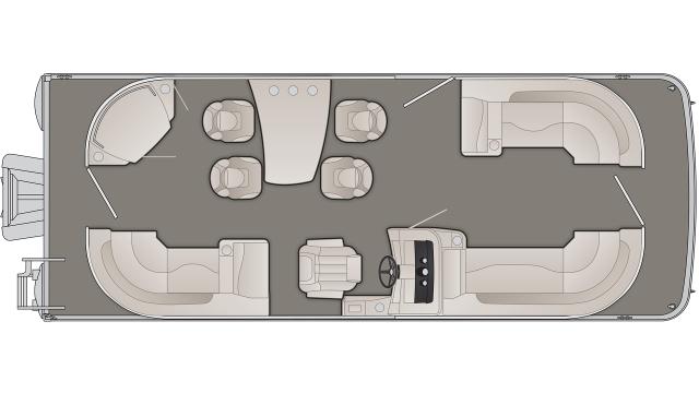 SXP Series 23SPDXP Floor Plan - 2020