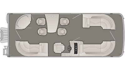 SXP Series 23SPDXP Floor Plan - 2020