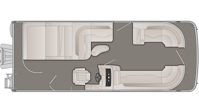 SXP Series 23SSLXP Floor Plan - 2020