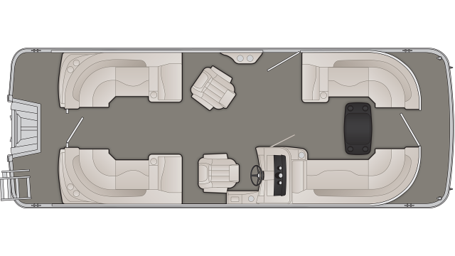 SXP Series 23SSRFBXP Floor Plan - 2019