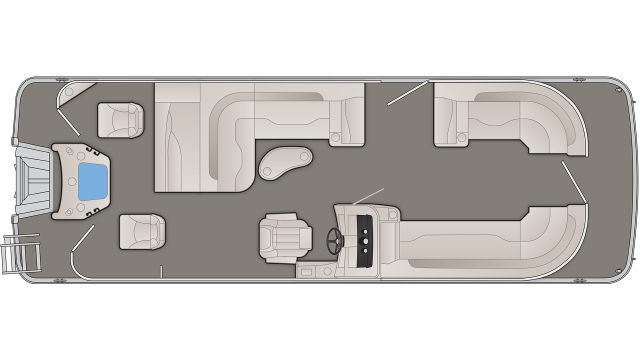 SXP Series 25SSXAPGP Floor Plan - 2020