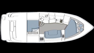 Vista 348 Floor Plan - 2003