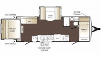 2013 Outback 250RS Floor Plan