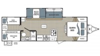 2017 Kodiak Ultra Lite 283BHSL Floor Plan