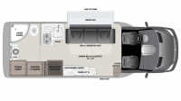 2018 Airstream Atlas Murphy Suite Floor Plan