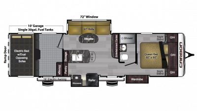 2018 Carbon 33 Floor Plan