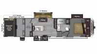2018 Carbon 347 Floor Plan