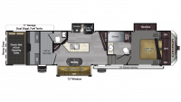 2018 Carbon 357 Floor Plan
