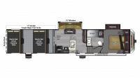 2018 Carbon 387 Floor Plan