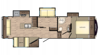 2018 Cruiser Aire 30MD Floor Plan