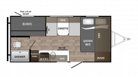 2018 Kodiak Cub 175BH Floor Plan