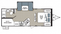 2018 Kodiak Ultimate 240BHSL Floor Plan