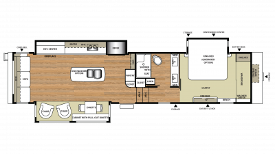 2018 Riverstone Legacy 38MB Floor Plan