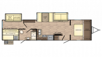 2019 Sunset Trail Super Lite 336BH Floor Plan
