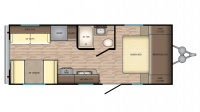 2019 Zinger ZR211RD Floor Plan