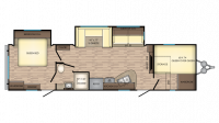 2019 Zinger ZR320FB Floor Plan