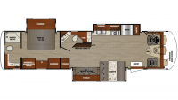 2019 Georgetown 5 Series 34H Floor Plan